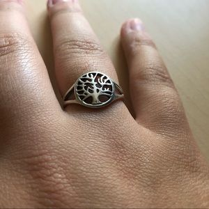 sterling silver tree of life ring!